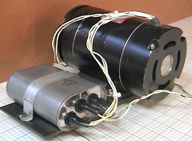 Used Dual Speed Hysteresis Synchronous Ac Motor Glhnrn