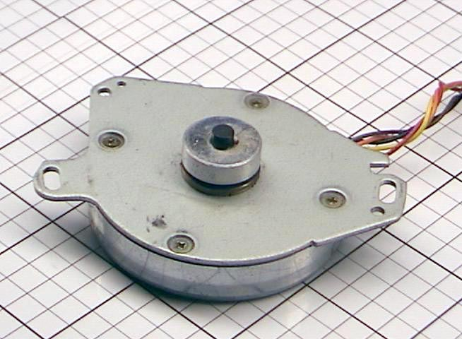 Used Stepper Motor Type Msje200m31