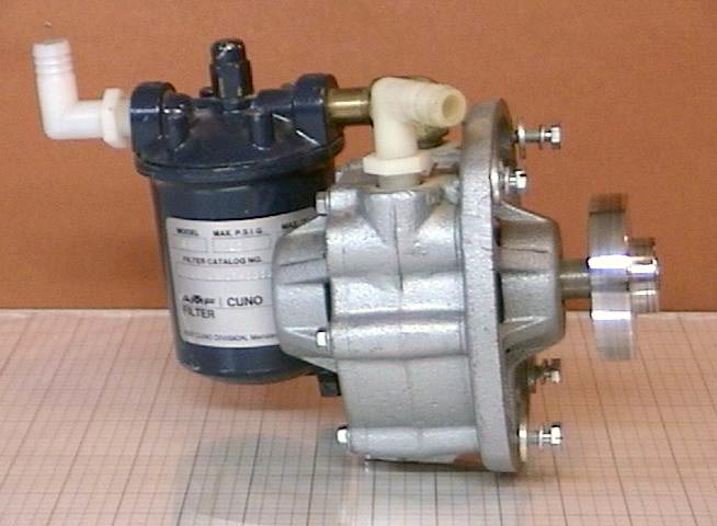 Used Motor Driven Pump Gast 0870 Filter Amf 1a1