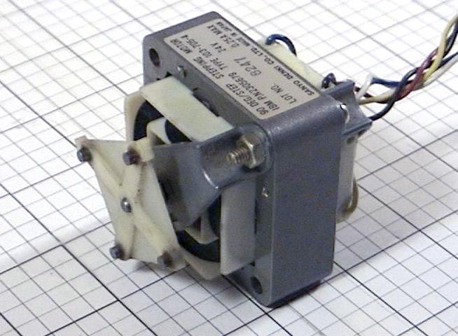 Used Stepper Motor Type 103 705 4