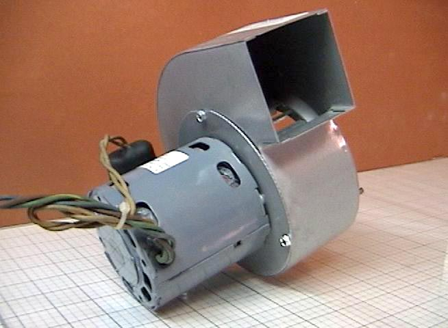Used Squirrel Cage Blower With Motor Kooltronic Jf1f018n