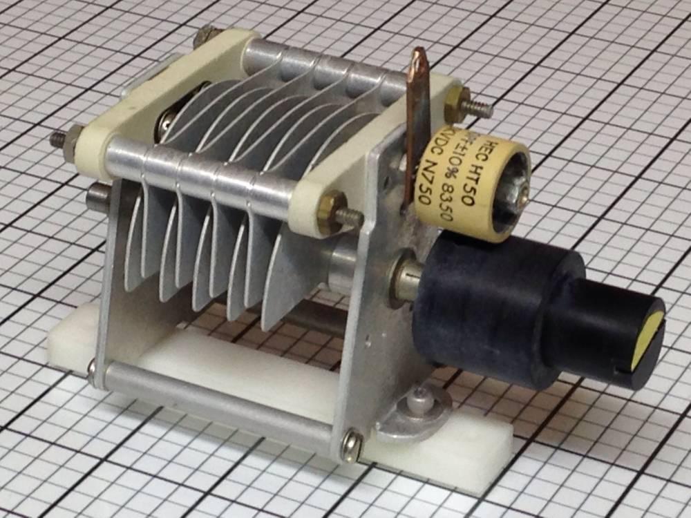 Cardwell XT-220-PS Transmitter Air Variable Capacitor