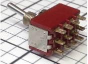 Toggle Switch C&K 7401 4PDT 5A 115VAC