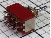 Toggle Switch C&K 7401 4PDT 115VAC 5A