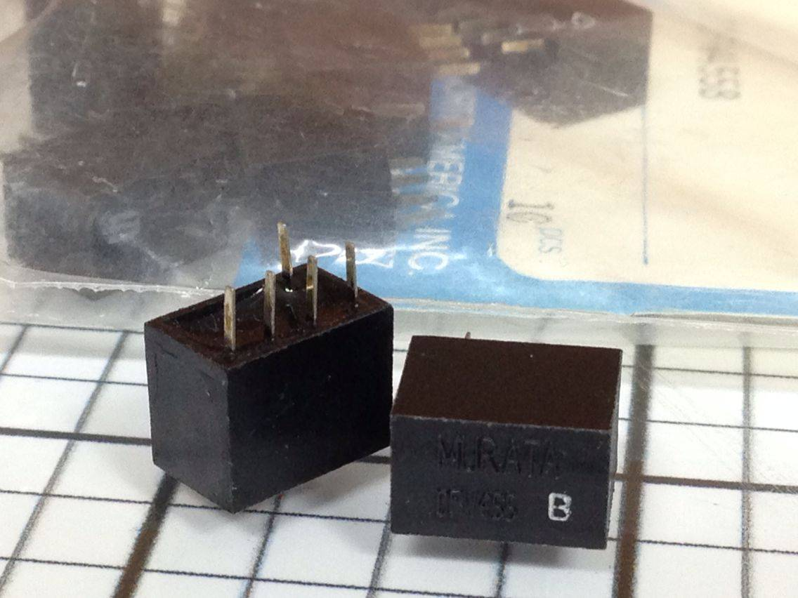 murata filter BFB 455KC 10Pcs 455KHz
