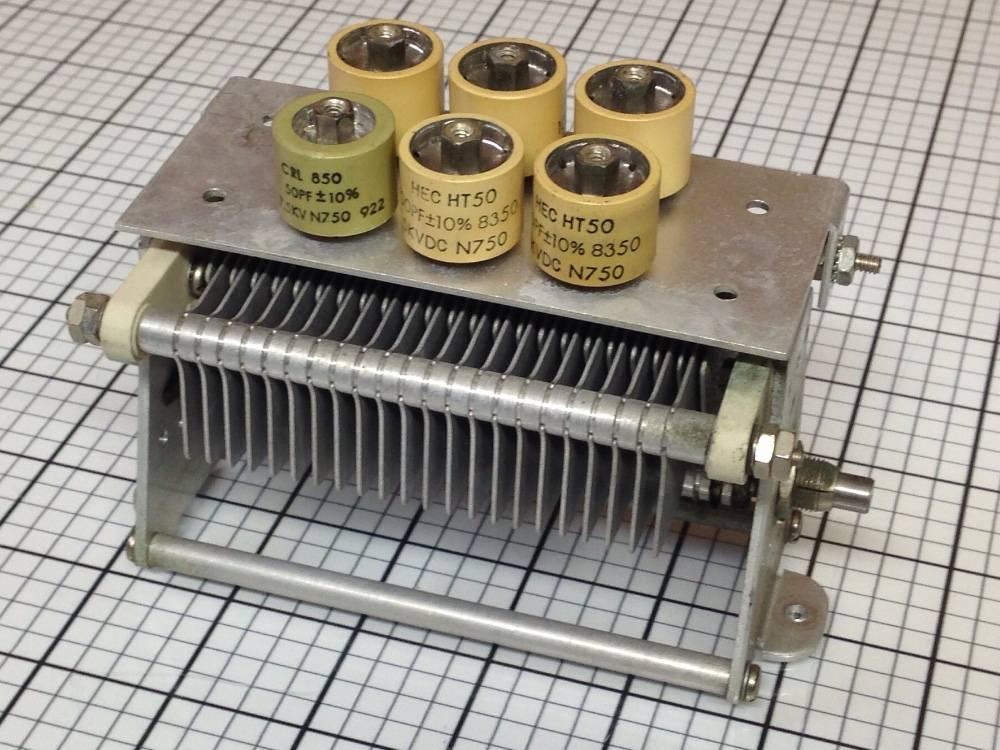 Переменный конденсатор в картинках