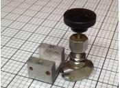 USED Needle Valve Whitey WP2000 Stainless Steel