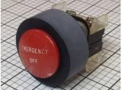 USED Emergency Off Switch Allen-Bradley 800T-XD2 800VAC Max