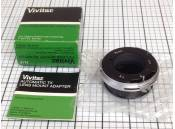 USED Vivitar TX Lens Mount Adapter N/F