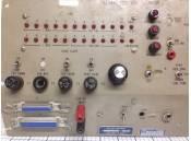 USED Vintage Test Panel Aircraft Radio Control RT-485A