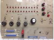 Vintage Test Set Panel Aircraft Radio Control RT-485A