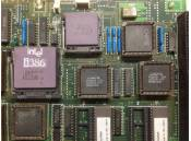 USED Mystery 386 Motherboard NEC-16T