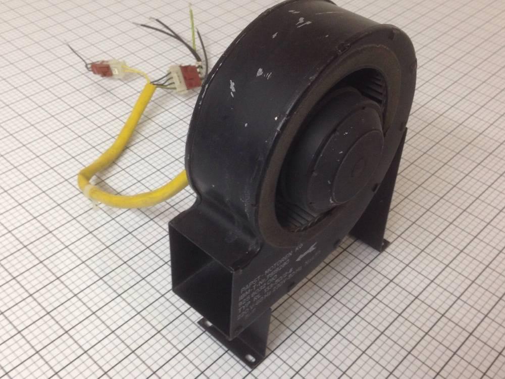 Used blower motor papst motoren rl133 50 2 6 220v 60hz for Blower motor capacitor symptoms