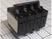 USED 10 Amp Circuit Breaker Airpax UPGH6668-2RE 250VAC 4 Pole