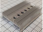 USED Heat Sink Aluminum 165mm x 118mm x 35mm