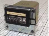 USED 6-Digit Electrical Counter Link Model 740503 40V 60Hz