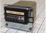 USED Vintage Electrical Counter 6 Digits Link 740503 40VAC 60Hz