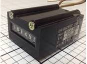 USED Electrical Magnetic Counter Line Seiki MCU-6SB 24VDC 6 Digit