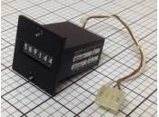 USED Electrical Magnetic Counter Line Seiki MCU-6P 24VDC 6 Digit