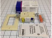 GFCI Duplex Receptacle Eagle Electric GF15V Ivory 15A-125VAC