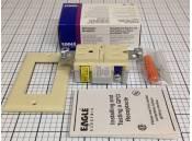 GFCI Duplex Receptacle Eagle Electric GF15V Ivory 15A-125VAC
