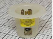 USED Twist-Lock Plug Hubbell D-54985-01 15 Amps 125V