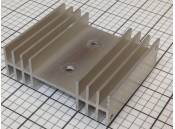 "USED Heat Sink Aluminum 3-5/8"" x 3"" x 1-1/8"""