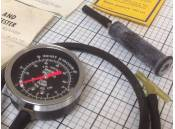 Vintage Vacuum Fuel Pump Tester Sears 282129 Gauge 0-30 Inches