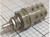 USED Rotary Switch Janco 1-1957-3B6SC 115V 28VDC