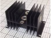 USED Heat Sink Aluminum Black 121mm x 77mm x 67mm