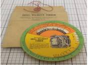 Vintage Grill Velocity Finder Scale Bacharach M848