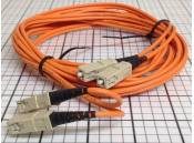 USED Fiber Optic Cable Duplex Corning 2 MM62.5FDDI SC-SC 2 Meter