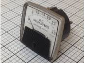 USED DC Panel Meter 0-3.0 Milliamperes General Electric DW-91