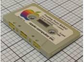 Vintage Apple II Cassette Tape Floating Point BASIC & Applesoft II