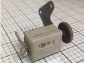 Vintage Analog Counter Lever Driven 3 Digit Manual AB Dick