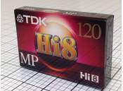 Camcorder Video Tape Hi8 TDK P6-120H8MP