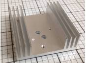USED Heat Sink Aluminum 75mm x 72mm x 24mm
