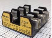 USED Fuse Block Bussmann 1B009 LR21455 3 Pole 250V 30 Amp