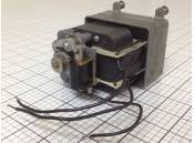 USED Vintage Geared Motor Von Weise MF 20 RPM 115VAC