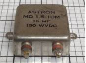 USED Capacitor Astron MD-1.5-10M 10MFD 150WVDC