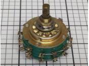 USED Rotary Switch Stackpole 304-72-28 2 Pole 6 Positions