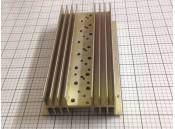 "USED Heat Sink Aluminum 9"" x 4-3/4"" x 1-7/8"" for TO-3 Transistor"