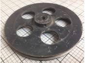 "USED V-Belt Pulley 7-1/4"" x 1-1/8"" PAKO W217 Cast Aluminum"