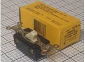 Toggle Switch Hubbell CS115-I-A Single Pole Ivory 125VAC 15A