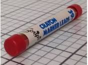 Vintage Crayon Marker Leads Scripto G920 Red (Tube of 4Pcs)