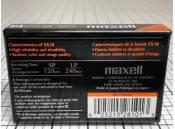 Video Cassette Tape 8mm Maxell P6-120EX