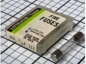 Glass Fuse Littelfuse 3AG 312 125/250V 1/4A (Pack of 5)