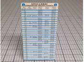 USED Refrigeration/Freezer Controls Chart Ranco K-Series