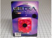 UV Case Fan Ultra ULT31356 Translucent 12VDC 80mm Red