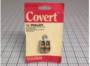 Pulley Double Sheave 3/4 Inch Covert CopperTools 765-5202
